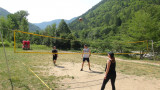 Volleyball mit Rosi